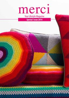 Merci special issue for you! More to discover about home decor, yarns, crochet, knitting, workshop!