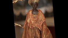 Pintura Em gesso Africano Pinctore Tigre - YouTube