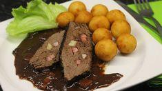 Hovězí na víně se švestkovou omáčkou. Zdroj: Toprecepty, Angel 666 Steak, Beef, Food, Meat, Essen, Steaks, Meals, Yemek, Eten