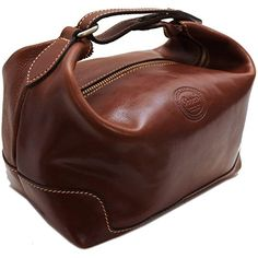 ad37c52e8a New Cenzo Leather Travel Kit Toiletry Dopp Bag in Brown. Beauty    89 topoffergoods