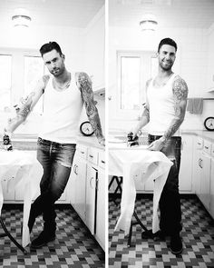 "ouradamlevine: "" 128, 129 of ∞ pictures that prove that Adam Levine is hot af """