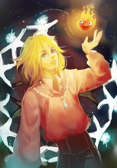 "Howl by Suihowl.deviantart.com on @deviantART - From Miyazaki's ""Howl's Moving Castle"""