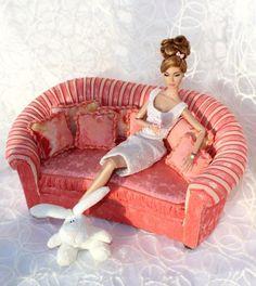 МЕБЕЛЬ для кукол FR, Barbie, BJD, PP, MX