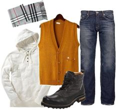 Sweater Vest Styled