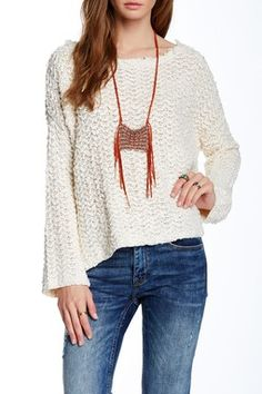 Free People Everlasting Pullover Sweater