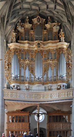 "1992500453 The Marktkirche Unser Lieben Frauen (""Market Church of Our Dear Lady"") in. Saxony  AnhaltOld ..."