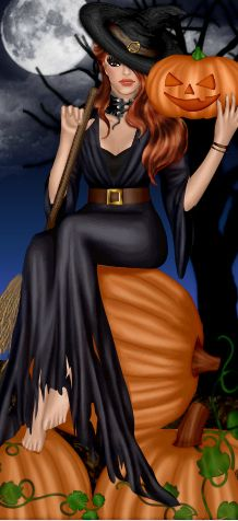 Halloween+Witch+by+divachix.deviantart.com+on+@DeviantArt