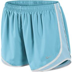 Nike Tempo Track Women's Running Shorts - Tide Pool Blue, L ($19) ❤ liked on Polyvore