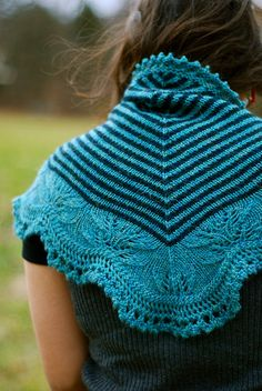 Andean Shawl by throughtheloops, via Flickr