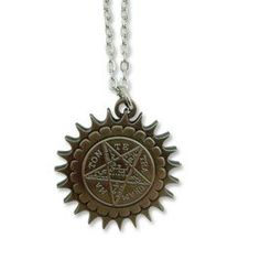 Black Butler - Pentacle Emblem Necklace