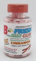 Gum Bottles - B-Fresh Gum- gluten free soy free - no artificial sweeteners & Made in USA
