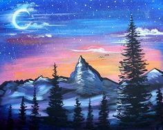 Twilight Mountain