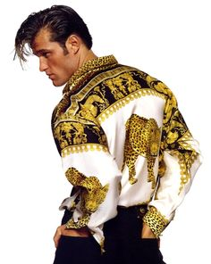 The shirt NOT THE HAIR!  LMFAO!  - Gianni Versace