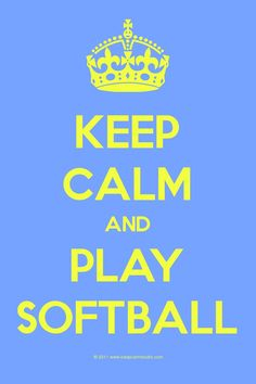 I play softball! This is so perfect for softball people. It makes a Great Wall paper