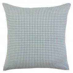 The Pillow Collection Keats Plaid Bedding Sham Size: Euro, Color: Aqua Plaid Bedding, Plaid Throw Pillows, King Pillows, Throw Pillow Sets, Outdoor Throw Pillows, Bedding Basics, Plaid Pattern, Floor Pillows, Bedding Sets