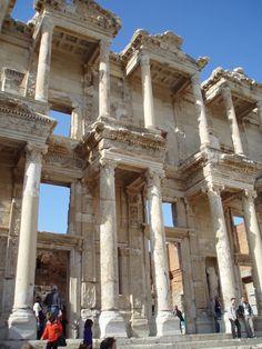 Ephesus Library. Kusadasi, Turkey