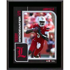 Teddy Bridgewater Louisville Cardinals Fanatics Authentic 10.5'' x 13'' Sublimated Plaque
