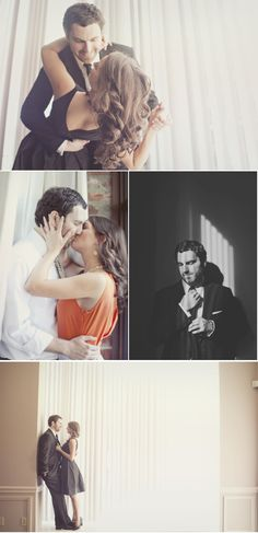 Loving this Old Hollywood Engagement Session from Our Labor of Love