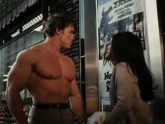 These moments are from the 1970 action movie with Arnold Schwarzenegger as Hercules.  However, this clip shows the 10 dumbest moment in the file