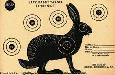 Jack Rabbit Target No. 11, Sears, Roebuck & Company, n.d.