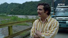 Wagner Moura como Pablo Escobar: hispânicos reclamaram do portunhol do ator brasileiro (Foto: Reprodução)