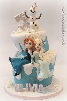 frozen wonky cake