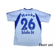15c78901c Photo2  Schalke04 2003-2005 Away Shirt  26 Mike Hanke adidas - Football  Shirts