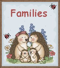 Families unit - With list of picture books to use.