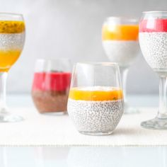 Chia pudink Wine Glass, Tableware, Dinnerware, Dishes, Wine Bottles