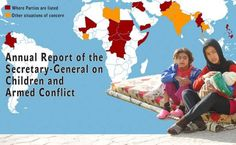 The United Nations Office for Children and Armed Conflict recently put out their latest report on these grave violations of children's rights, including information on progress made: http://j.mp/ZJVOVU