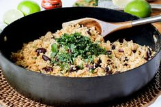 Coconut Ginger Red Beans and Rice | http://www.carlsbadcravings.com/cilantro-lime-coconut-ginger-redbeans-rice-recipe/