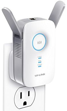 TPLink AC1200 WiFi Range Extender w Gigabit Ethernet Port Small Footprint w Intelligent Signal LED Ring RE350 * For more information, visit image link. Note: It's an affiliate link to Amazon