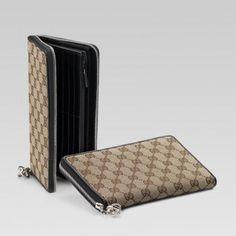 Gucci 233026 F4c7n 9769 Continental Geldb?rse mit Verriegelung G Charme Gucci Damen Portemonnaie