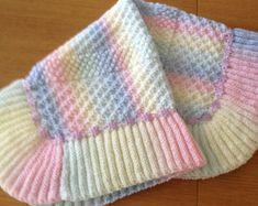 Estonian Princess Baby Blanket Knitting Pattern by fabuknits