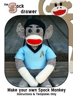 Spock Monkey?! Oh, the things I didn't even know I needed!