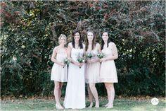 bridesmaids in autumn