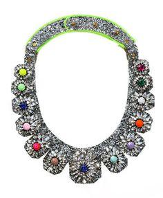 Galaxy Glitter Rhinestone Necklace $199