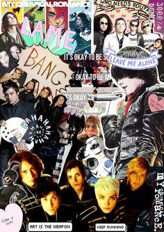 MCR tumblr collage