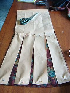 """getting the """"flowy"""" look and make your own skirt pattern"""