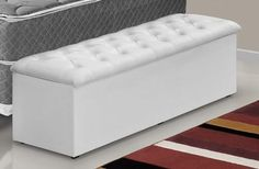 Recamier/calçadeira Baú - Cr P/cama Box 1,40 Larg - R$ 329,00 em Mercado Livre Cama Box, Diy Bed Frame, Ideas Hogar, Interior Decorating, Interior Design, Dream Rooms, My Room, Girls Bedroom, Home Furniture