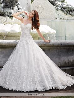 Sophia Tolli - Trevi - Y21658 - All Dressed Up, Bridal Gown