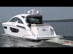 Cruisers Yachts 60 Cantius Entertaining Features  2015- By BoatTest.com