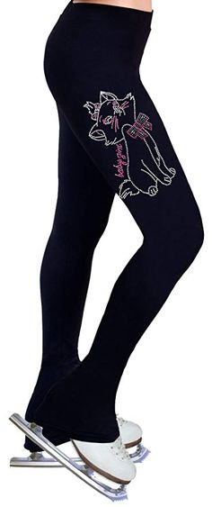 7b3158888e ny2 Sportswear Figure Skating Practice Pants with Rhinestones R169 Review  Figure Skating Dresses, Fabric Softener