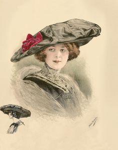 Atelier BACHWITZ. Шляпы 1911г. Часть- 2. — Сундучок