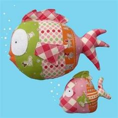 Fish-this makes me want to pick up sewing/quilting so cute!