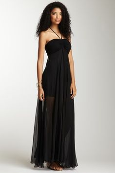 Solid Silk Dress by Analili on @HauteLook