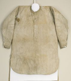 A History of Ireland in 100 Objects: No. 91 James Connolly's Shirt (1916)
