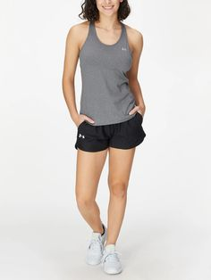 Under Armour Women's Spring Play Up Solid Short Tennis Warehouse, Tennis Wear, Lucky In Love, Under Armour Women, Stylish Outfits, Basic Tank Top, Active Wear