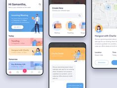 Mobile app developers that focus on android ui design will always be focused on choosing the right tools that will make their work look good Web Design, App Ui Design, Interface Design, User Interface, Design Layouts, Dashboard Design, Graphic Design, Ui Design Mobile, Mobile Ui