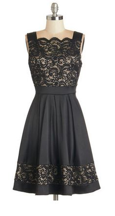 little black dress. LOVE!